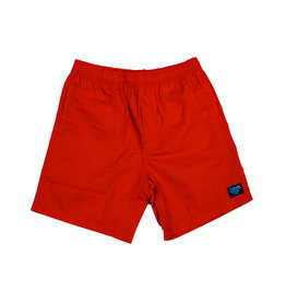 BLUETILE BLUETILE SURPLUS BEACH SHORT RED