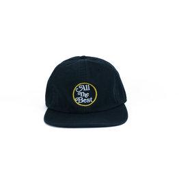 BLUETILE BLUETILE ALL THE BEST UNSTRUCTURED HAT BLACK