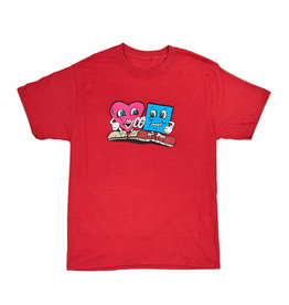 "BLUETILE BLUETILE ""4/20 LOVE"" T-SHIRT HEATHER RED"