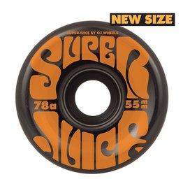 OJ WHEELS OJ WHEELS MINI SUPER JUICE BLACK 78a 55mm