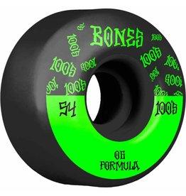 BONES BONES 100'S V4 54MM O.G. BLACK