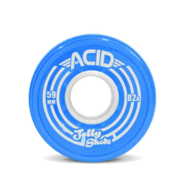 Acid Wheels ACID WHEELS JELLY SHOTS 82a 59mm BLUE