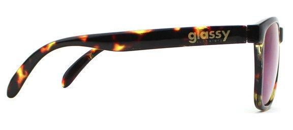 GLASSY GLASSY SUNHATERS DERIC TORTOISE / GREEN MIRROR