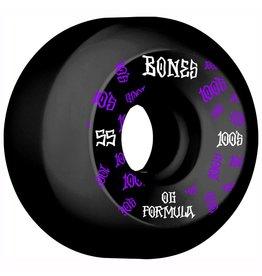 BONES BONES 100'S V5 55MM SIDECUT BLK