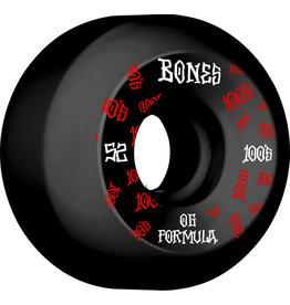 BONES BONES 100'S V5 52MM SIDECUT BLK