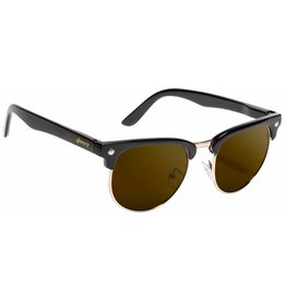 GLASSY GLASSY SUNHATERS MORRISON BLACK / BROWN LENS