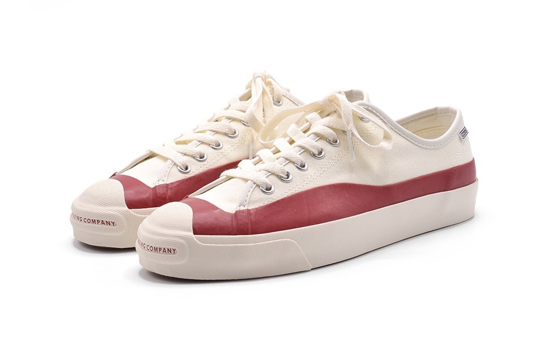 CONVERSE CONVERSE POP TRADING CO. JACK PURCELL PRO OX EGRET/RED