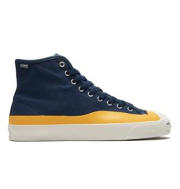 CONVERSE CONVERSE POP TRADING CO. JACK PURCELL PRO HI NAVY/CITRUS