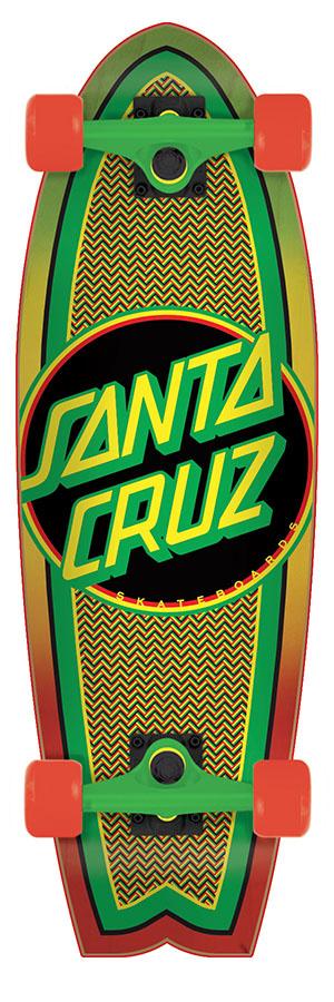 """SANTA CRUZ SANTA CRUZ RASTA DOT SHARK CRUZER 27"""""""