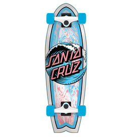 SANTA CRUZ SANTA CRUZ WAVE DOT SHARK CRUZER 27""