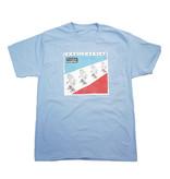 BLUETILE BLUETILE SKETCHY KRAFTWERK T-SHIRT LIGHT BLUE