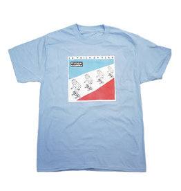 BLUETILE BLUETILE SKETCHY KRAFTWERK T-SHIRT LIGHT BLUE