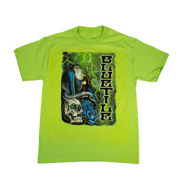 BLUETILE BLUETILE TRIPPY WIZARD T-SHIRT LIME GREEN