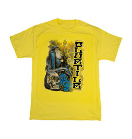 BLUETILE BLUETILE TRIPPY WIZARD T-SHIRT YELLOW