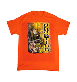 BLUETILE BLUETILE TRIPPY WIZARD T-SHIRT ORANGE