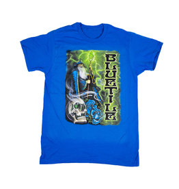 BLUETILE BLUETILE TRIPPY WIZARD T-SHIRT BLUE