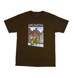 BLUETILE BLUETILE HAPPY TURTLES T-SHIRT BROWN