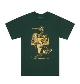 FUCKING AWESOME FUCKING AWESOME PHYSICAL ASTRAL T-SHIRT DARK GREEN