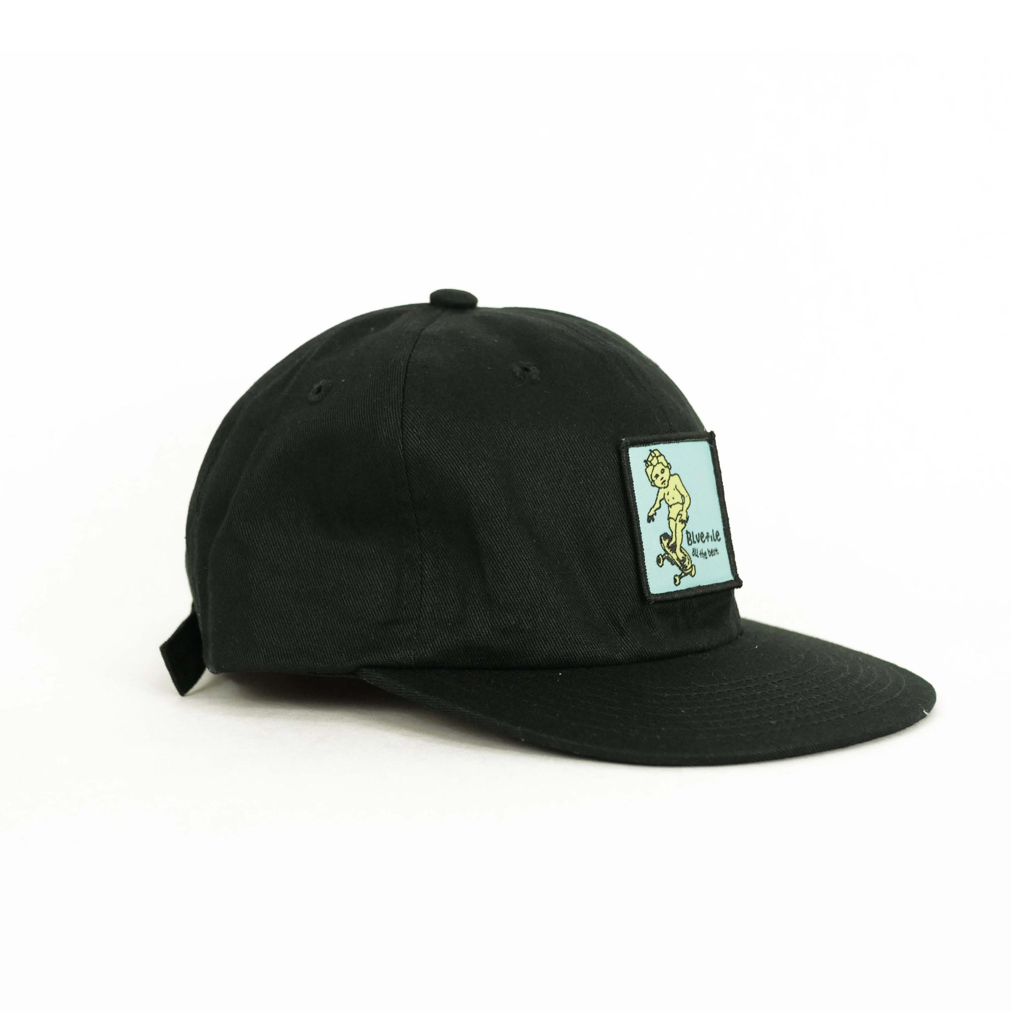 BLUETILE BLUETILE SKETCHY PATCH HAT BLACK