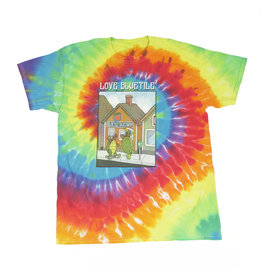 BLUETILE BLUETILE HAPPY TURTLES T-SHIRT TIE DYE