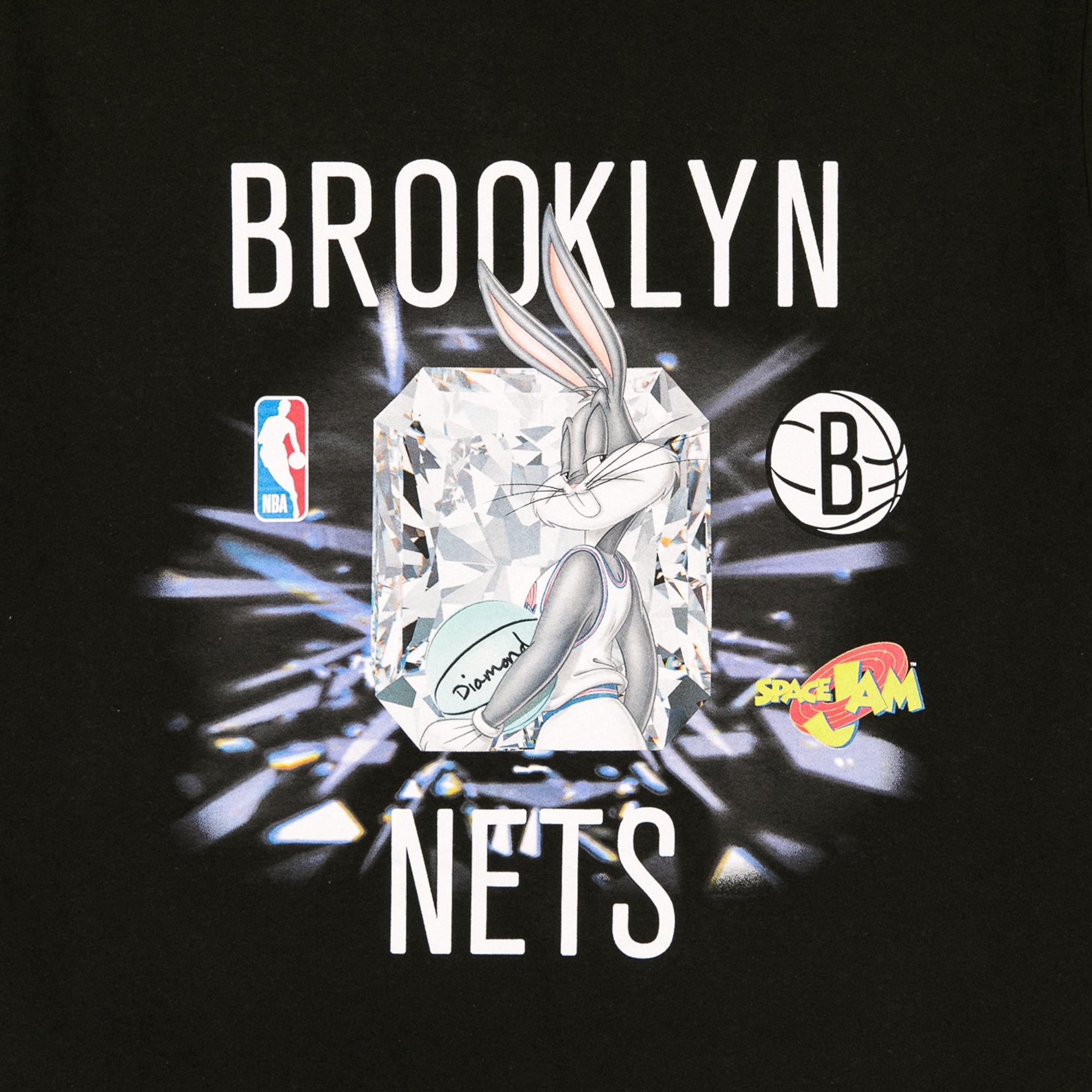 DIAMOND x SPACE JAM x NBA NETS T-SHIRT