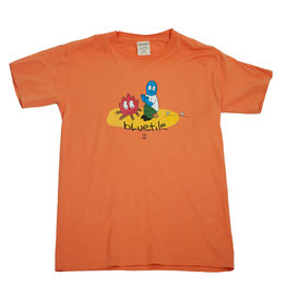 BLUETILE BLUETILE CAMP FIRE T-SHIRT HORIZON