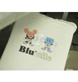 BLUETILE BLUETILE PAPER TOYS T-SHIRT NATURAL