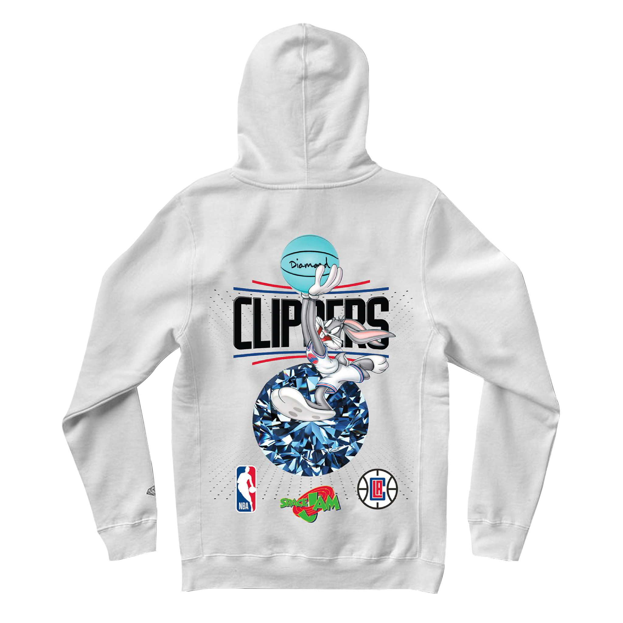 DIAMOND x SPACE JAM x CLIPPERS HOODIE