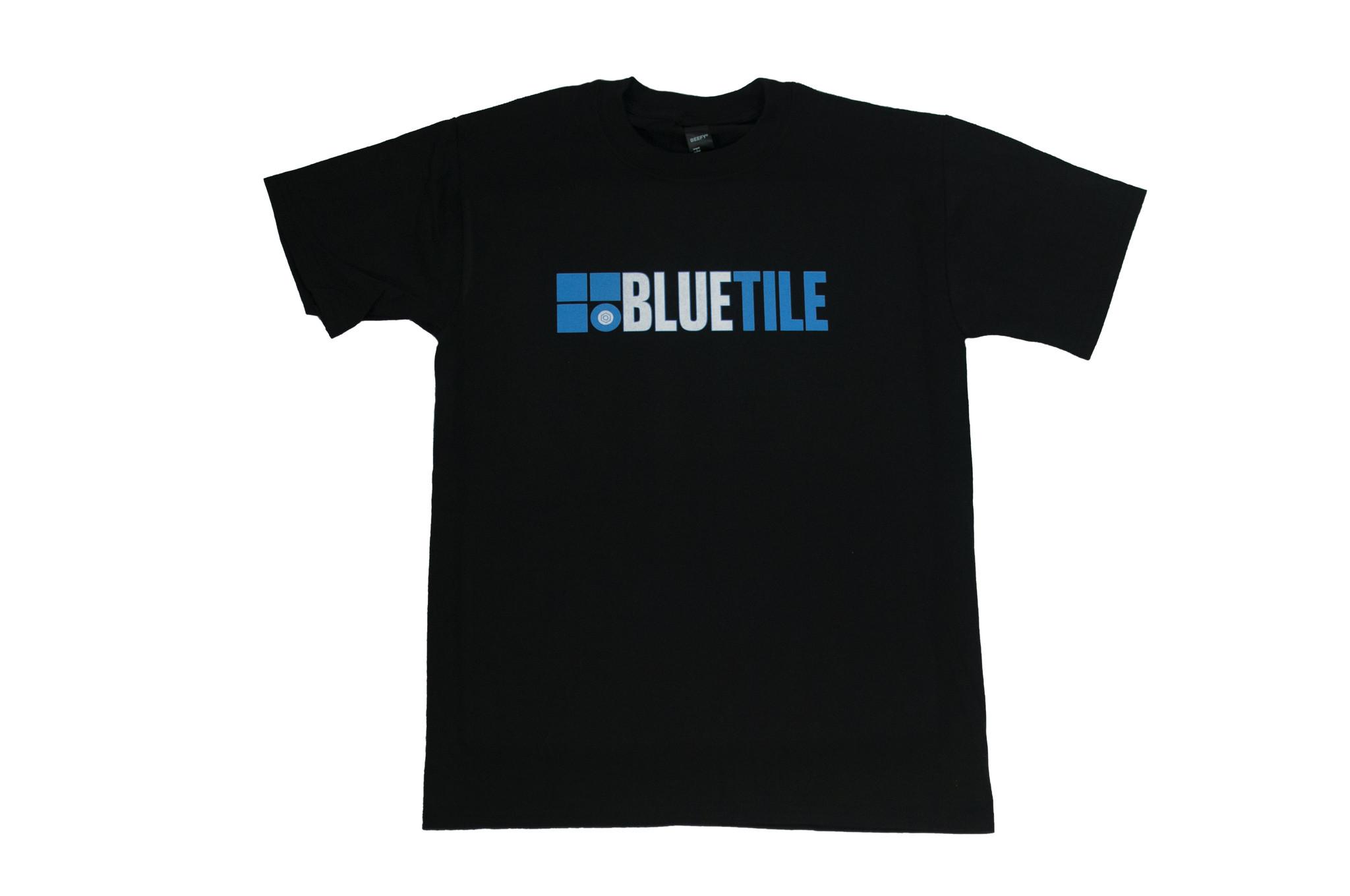 BLUETILE BLUETILE THROWBACK 2010 LOGO T-SHIRT BLACK