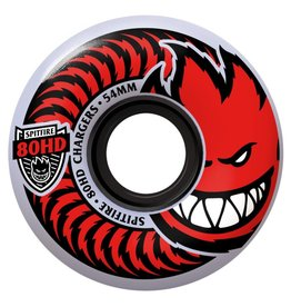 SPITFIRE SPITFIRE 80HD CHARGER CLASSICS 54MM CLEAR/RED