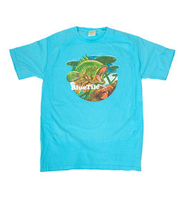 BLUETILE BLUETILE WILDERNESS BASS T-SHIRT FRESHWATER BLUE