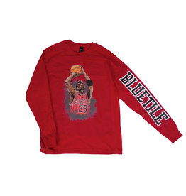 BLUETILE BLUETILE JUMP SHOT LONG SLEEVE RED