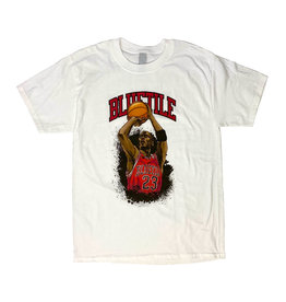 BLUETILE BLUETILE JUMP SHOT T-SHIRT WHITE