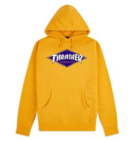THRASHER THRASHER DIAMOND LOGO HOODIE GOLD