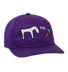 FROG FROG HORSE 5 PANEL PURPLE