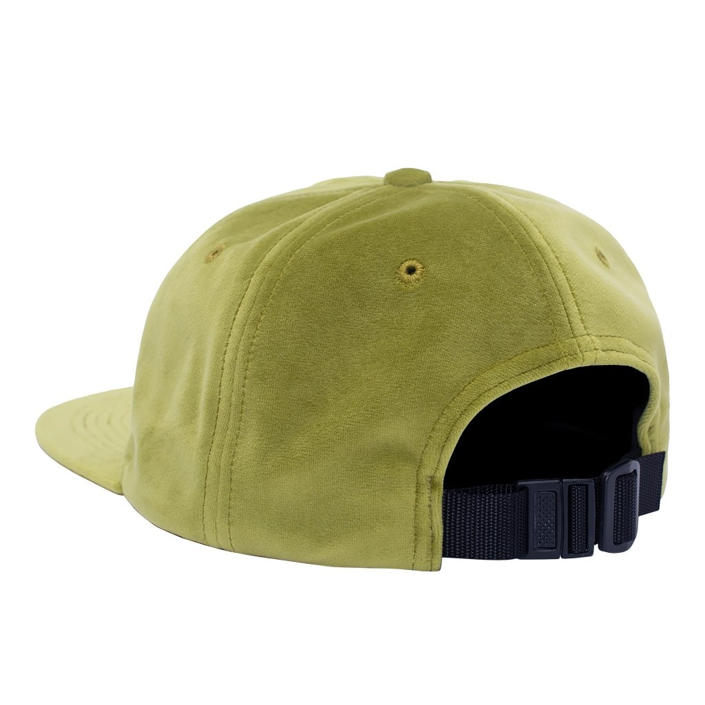 FUCKING AWESOME FUCKING AWESOME OUTLINE DRIP LIME UNSTRUCTURED STRAP BACK