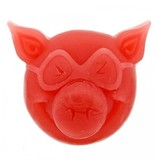 PIG HEAD RAISED CURB WAX RED