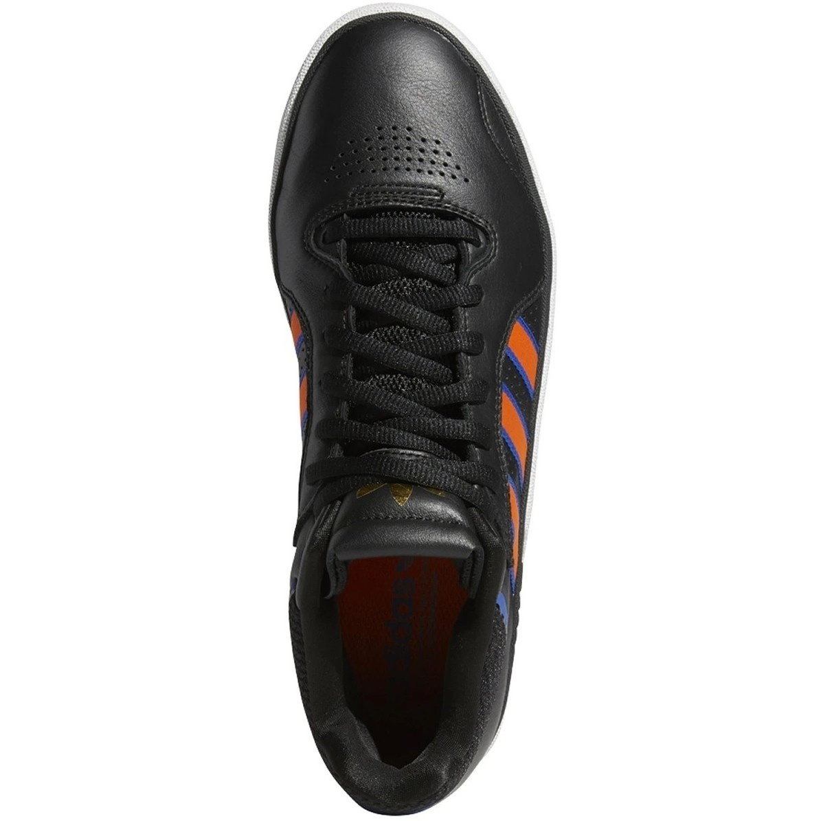 "ADIDAS ADIDAS TYSHAWN ""KNICKS"" BLACK / ORANGE / TEAM ROYAL BLUE"