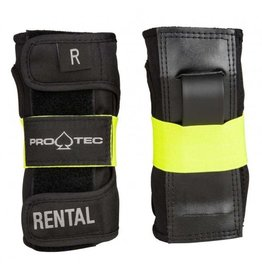 PRO-TEC PROTEC RENTAL WRIST GUARD BLACK / YELLOW