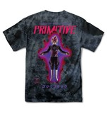 PRIMITIVE PRIMITIVE GOKU BLACK ROSE WASHED T-SHIRT BLACK