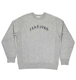 FAKE JUNK FAKE JUNK EMBROIDERED CREWNECK GREY