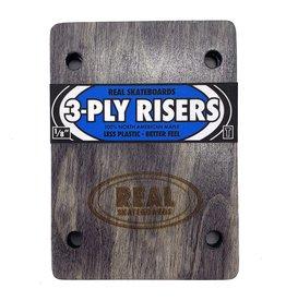 REAL REAL 3-PLY 1/8 RISERS THUNDER FIT