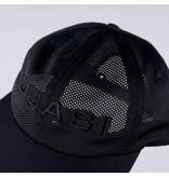 QUASI QUASI PERF HAT BLACK