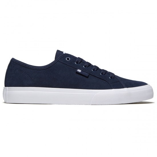 DC DC MANUAL S SUEDE NAVY / WHITE