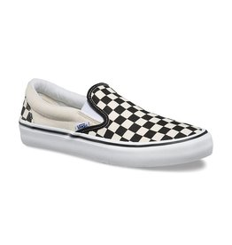 VANS VANS SLIP ON PRO CHECKERBOARD BLACK / WHITE
