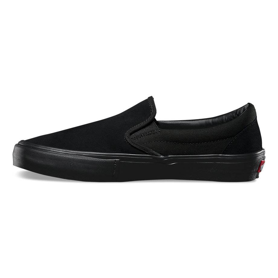 "VANS VANS SLIP ON PRO ""BLACKOUT"""
