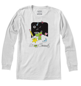VANS VANS X FROG LONG SLEEVE WHITE