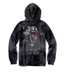 PRIMITIVE PRIMITIVE VENOM HOODIE WASHED BLACK