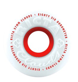 RICTA RICTA CLOUDS 86a 57mm WHITE/RED