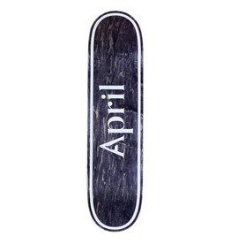 APRIL APRIL BLACK LOGO 8.5